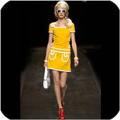 60sスタイルのドレス アイコン