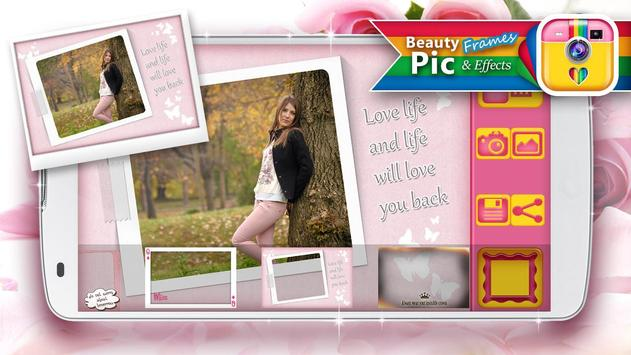 Beauty Pic Frames and Effects apk screenshot