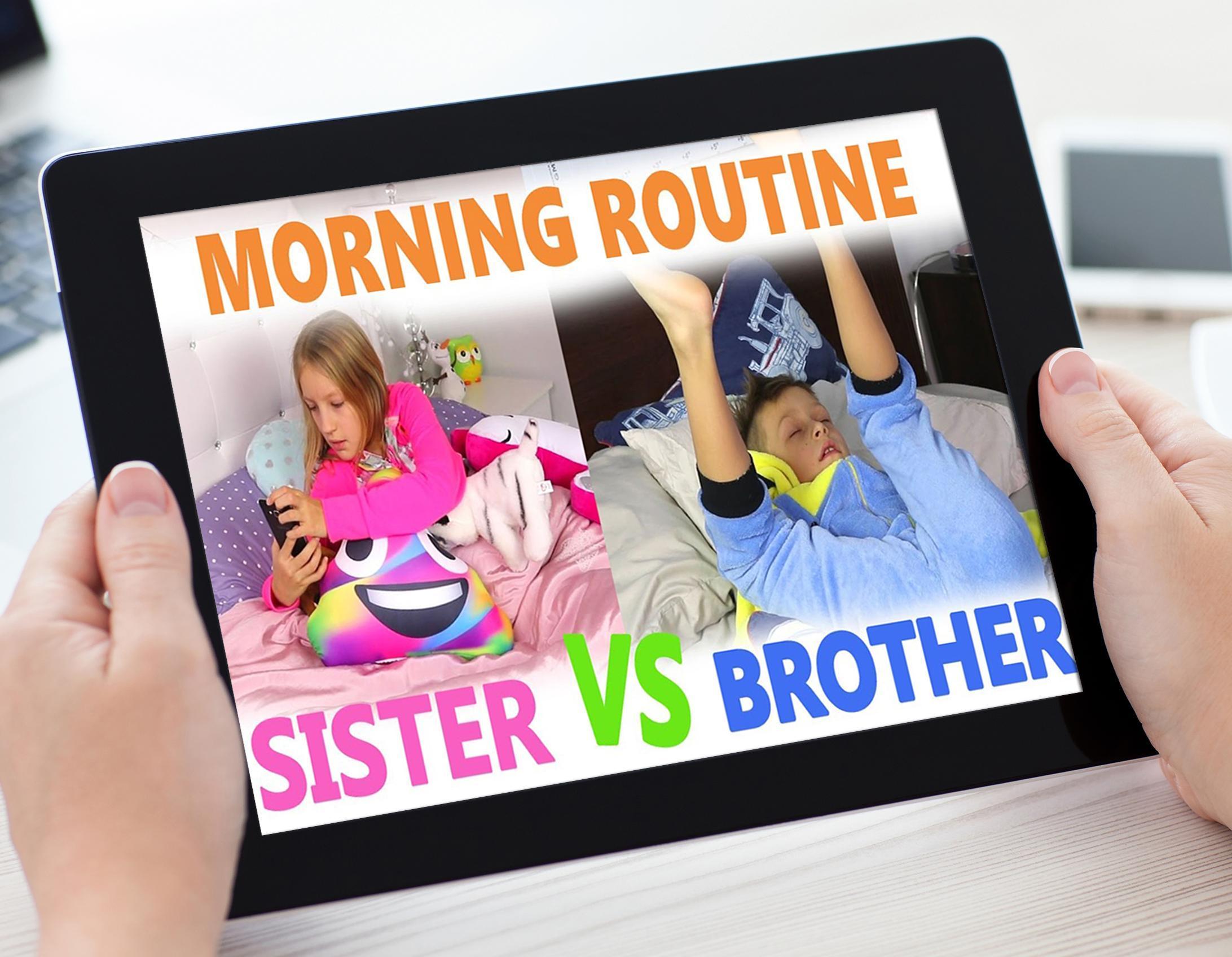 sis vs bro routines