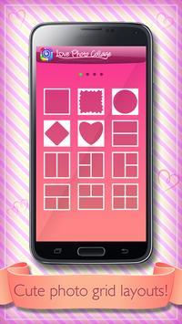 Photo Collage Love Pics apk screenshot