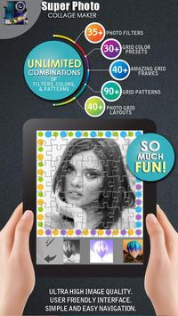 Super Photo Collage Maker poster