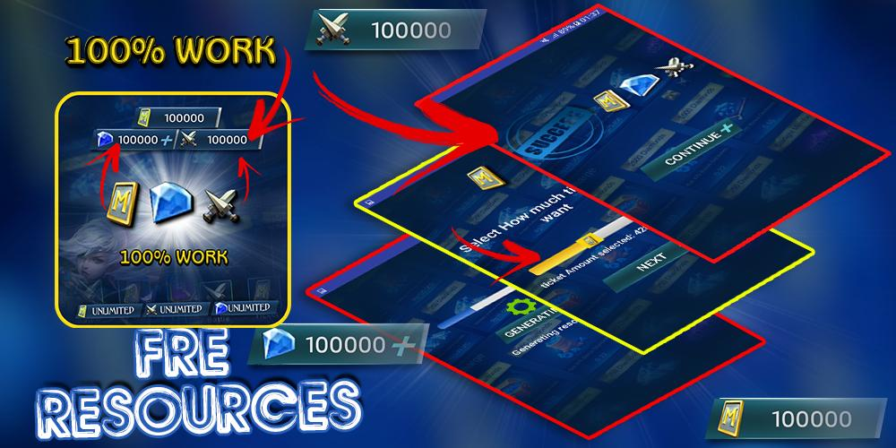 Instant Mobile Legends Free Diamond For Android Apk Download