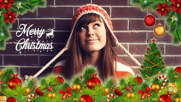 InstantPics: Christmas Photo Editor with Stickers poster