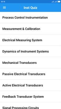 Instrumentation Engineering Quiz screenshot 1