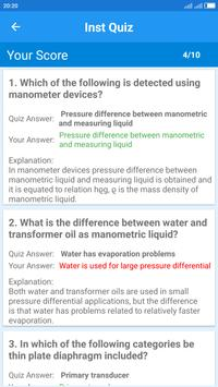 Instrumentation Engineering Quiz screenshot 4