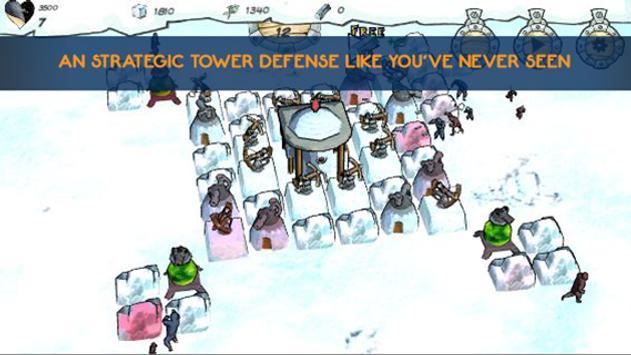Penguins vs Ninjas TD poster