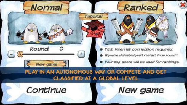Penguins vs Ninjas TD apk screenshot