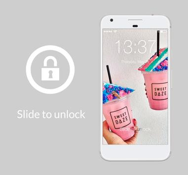 Magical Unicorn Donuts Sweet Bakery Lock Security poster
