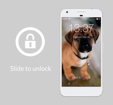Cute Dogs Domestic Pets Beautiful Lock Screen poster