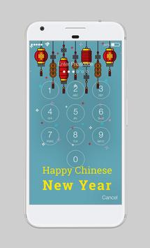 Chinese New Year Lighters Warm Colors AppLock screenshot 1