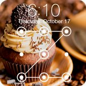 Chocolate Tare Real Cake Cream AppLock Security icon