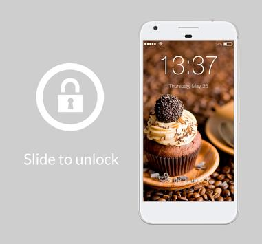 Chocolate Tare Real Cake Cream AppLock Security screenshot 4
