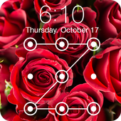 Flowers Rose Macaroons Love Valentines Day AppLock icon