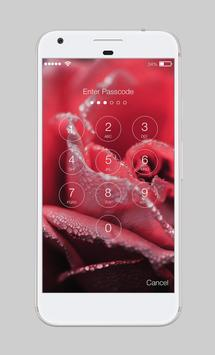 Flowers Rose Macaroons Love Valentines Day AppLock screenshot 1