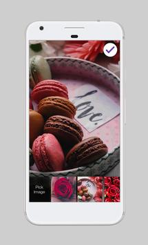 Flowers Rose Macaroons Love Valentines Day AppLock screenshot 2