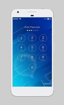 Galaxy Water Shape Wallpaper AppLock Security apk screenshot