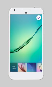 Galaxy Water Shape Wallpaper AppLock Security screenshot 4
