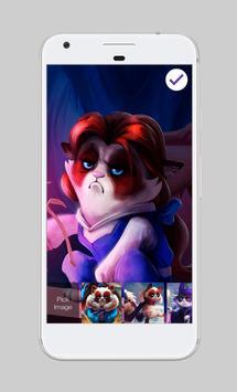 Grumpy Cat Charming Princess HD Screen Lock apk screenshot