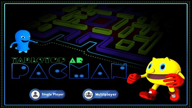 TabletopARPacman poster
