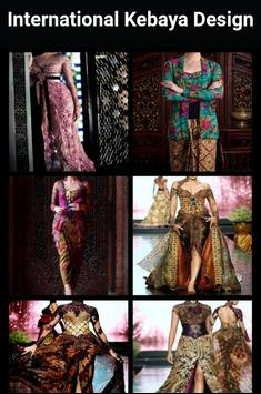 International Kebaya Design apk screenshot