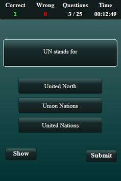 International Organizations Quiz screenshot 4