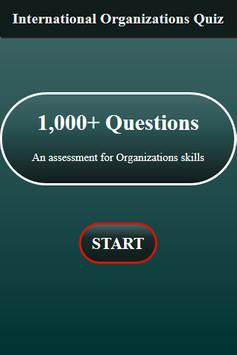 International Organizations Quiz screenshot 8