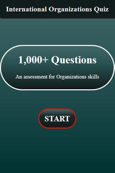 International Organizations Quiz screenshot 1