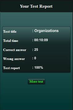International Organizations Quiz screenshot 20