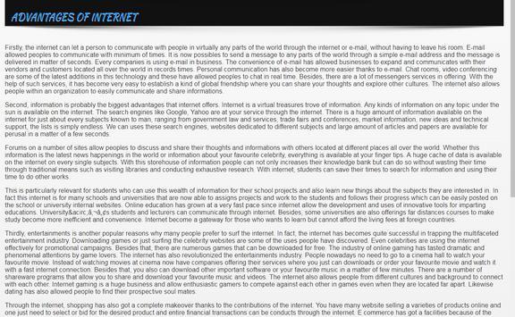 Internet Education apk screenshot