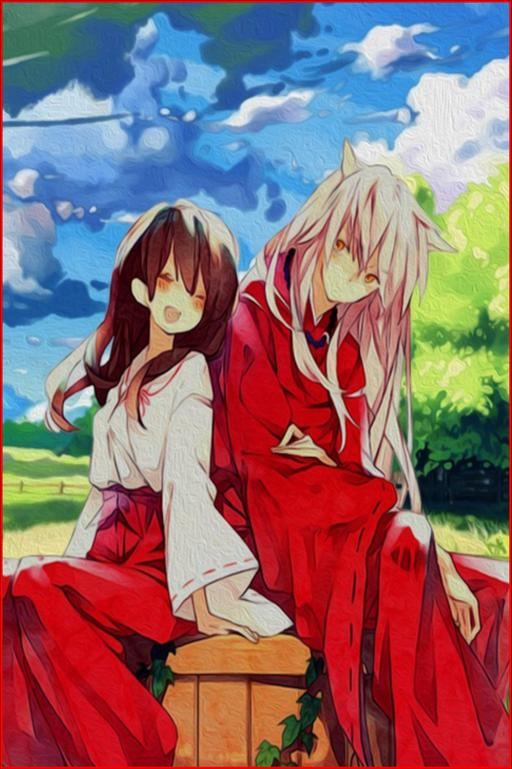 Wallpaper Inuyasha Kagome For Android Apk Download