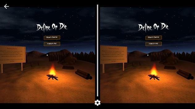 Define Or Die VR poster