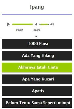 Ipang Full Album Mp3 screenshot 14