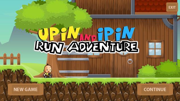 Upin Adventure Ipin Super Dash poster