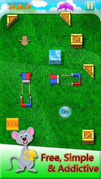 mouse spy trap game cut the cheese maze puzzle apk download