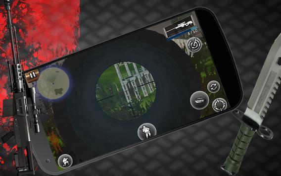 Sniper Assassin Shooting Fury Gun Killer 3D Games screenshot 5