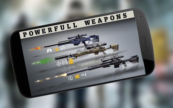 Sniper Assassin Shooting Fury Gun Killer 3D Games screenshot 1
