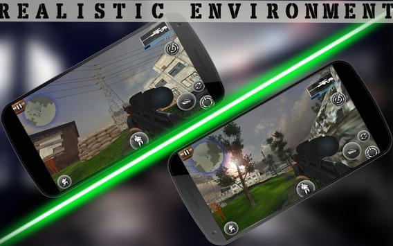 Sniper Assassin Shooting Fury Gun Killer 3D Games screenshot 3