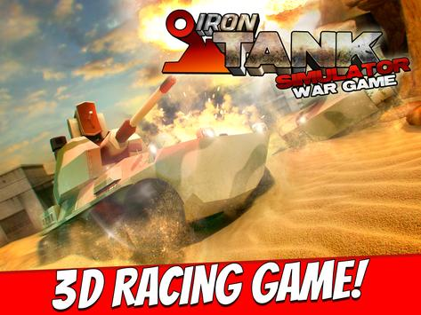 Iron Tank Simulator War Game apk screenshot