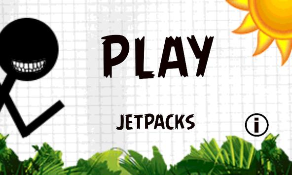 Stickman Jetpack poster