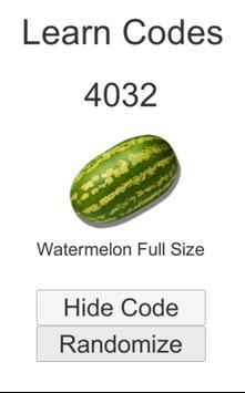 Product Codes screenshot 2