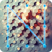 Hexagon Lock App icon