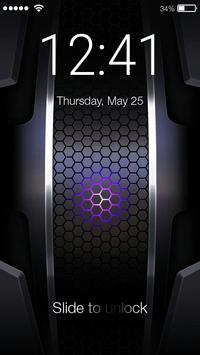 Hexagon Lock App poster