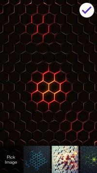 Hexagon Lock App apk screenshot