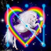 Unicorn Fairy Colorfull Horse AppLock icon