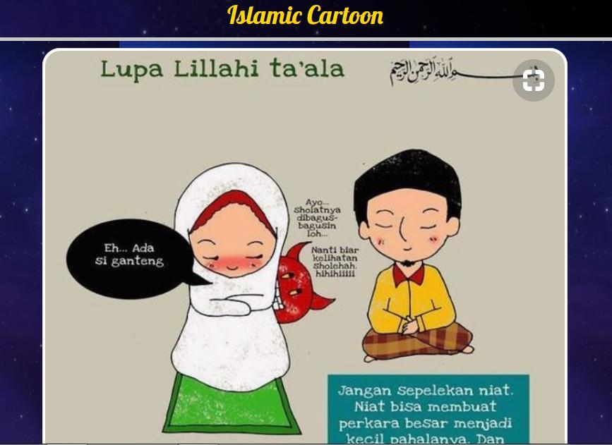 55 Gambar Kartun Islami Terbaru Gratis Terbaik