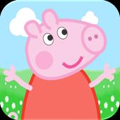 Run Pig Peppy Happy icon