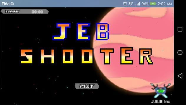 J.E.B SHOOTER poster