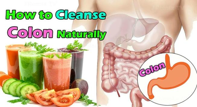 Natural Colon Cleanse poster