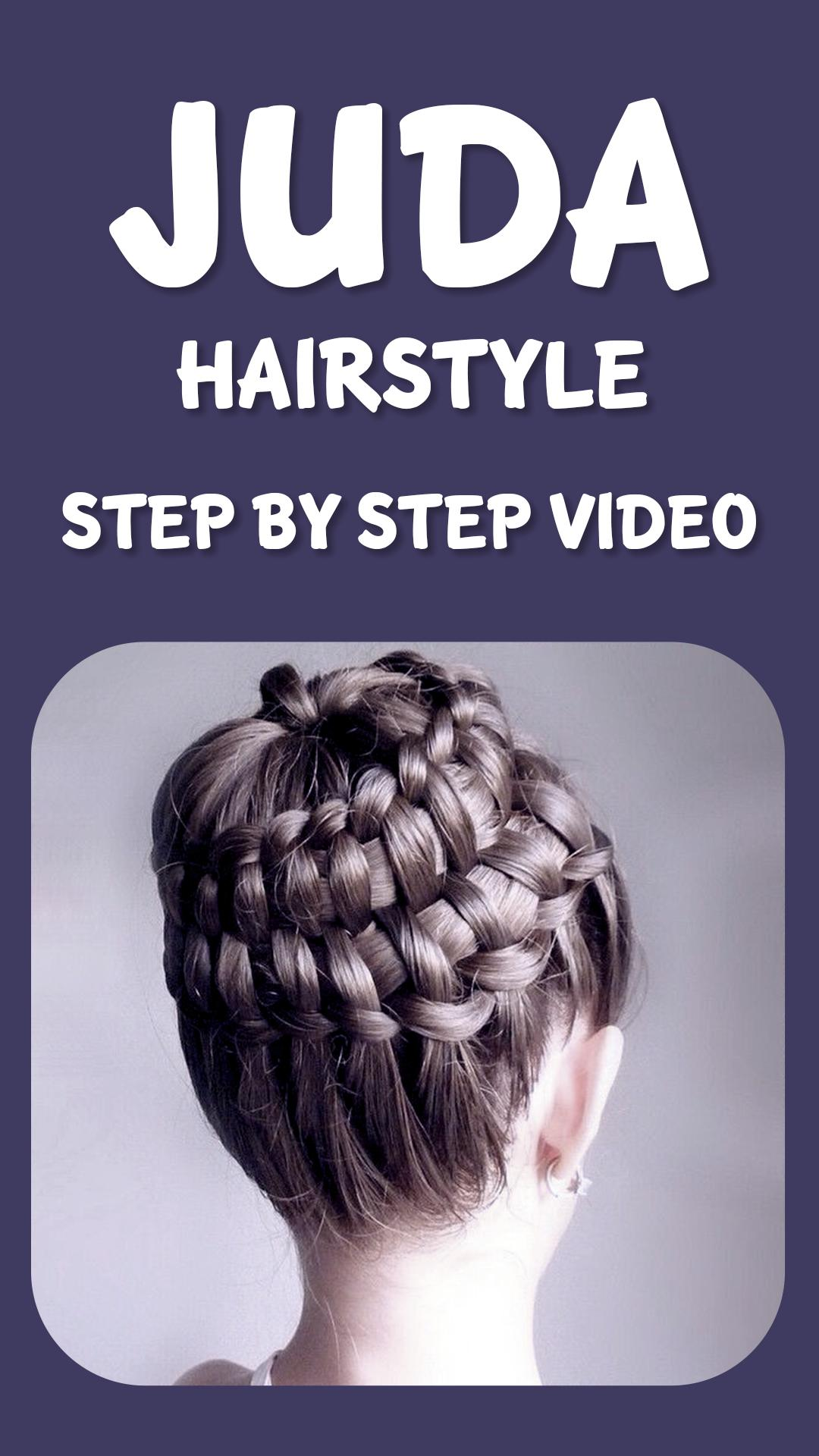 juda hairstyle step by step video pour android - téléchargez