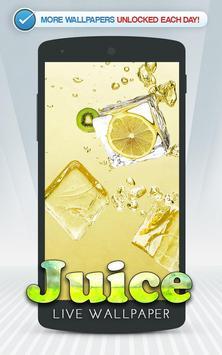 Juice Live Wallpaper poster